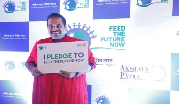 Mr Shankar Mahadevan pledges to feed the future
