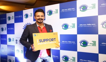 Mr Vivek Oberoi pledges to support the campaign